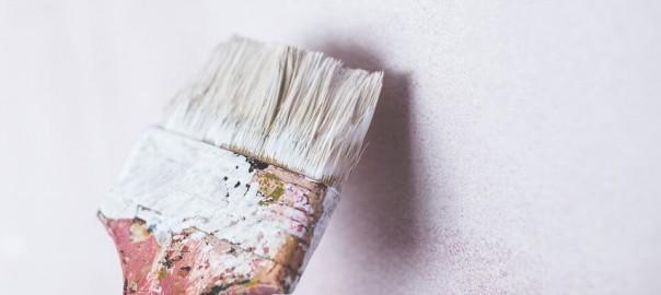 El secado de la pintura