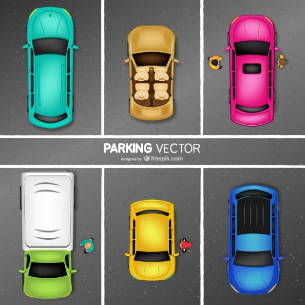 pintar un parking